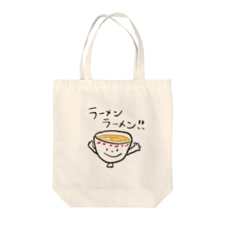 ラーメンラーメン!! Tote bags