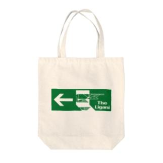 『THE LIGANI』 非常口 Tote bags