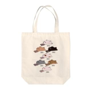 うなぎシリーズ Tote bags