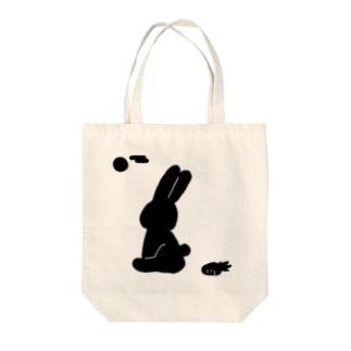 KAGE×USA Tote bags