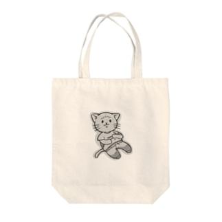 ぷよねこさん Tote bags