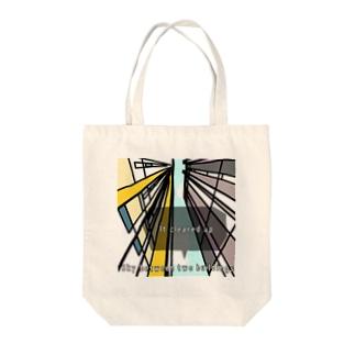 晴れ間 Tote bags