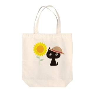 KURONO@NATSU Tote bags