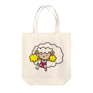 チアガールめぇる Tote bags