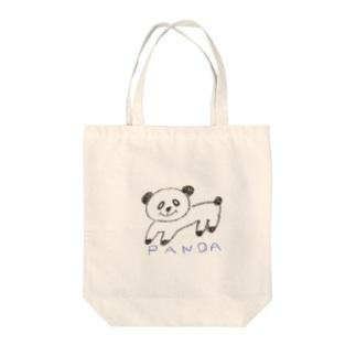 うきうきパンダさん Tote bags