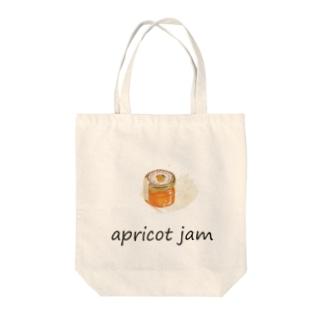 アプリコット・ジャム-4.0 Tote bags