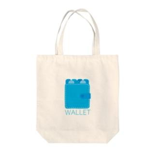 WALLET Tote bags