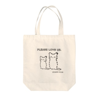 Please love street cats #チャリティー Tote bags