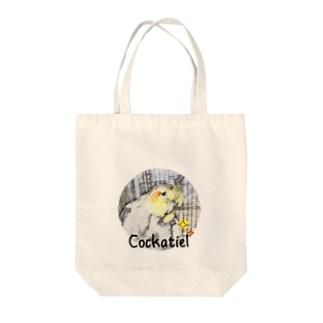 My Cockatiel ・ オカメインコ Tote bags