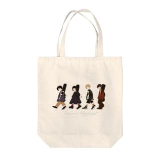 Peppermint Hedgehog Tote bags
