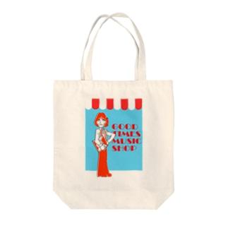 ふうさんMusic shop Tote bags