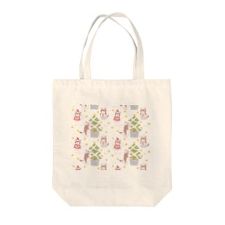 めりめりクリスマス🎄 Tote bags
