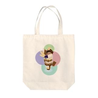 チョコレートパフェ  カラフル Tote bags