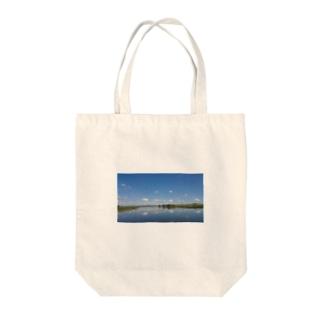 Lake  Tote bags