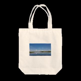 Co- Divno(original)のLake  Tote bags