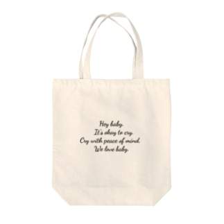 We love baby , Tote bags