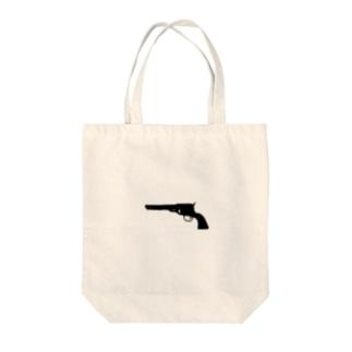 拳銃 Tote bags