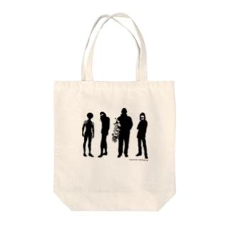 サークル・シマナガシ Tote bags