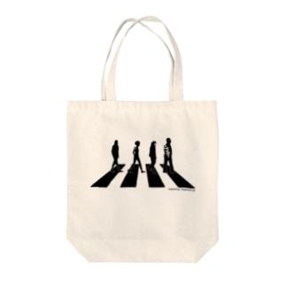 某ロックバンドのシマナガシ Tote bags