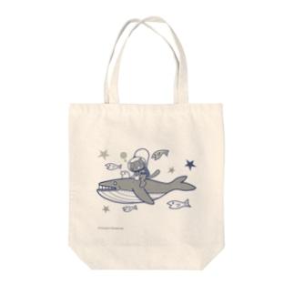 宇宙散歩 Tote bags