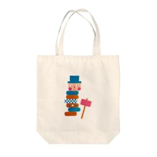 だるまの憂鬱 Tote bags