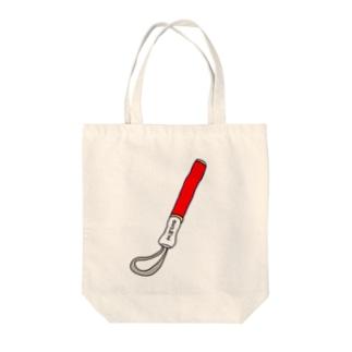 ペンライト(赤) Tote bags