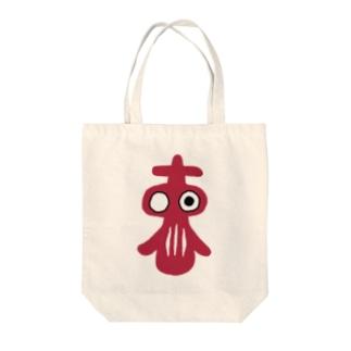 TOKYOだるま Tote bags