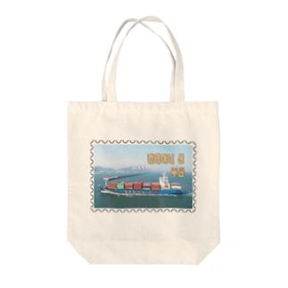 大韓民国:コンテナ船★白地の製品だけご利用ください!! Korea: Container ship/ Busan★Recommend for white base products only !! Tote bags
