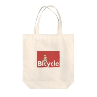 Bicycleなポップ Tote bags