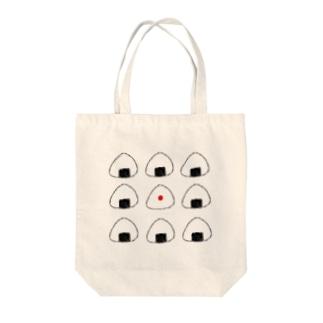 おにぎりいっぱい Tote bags