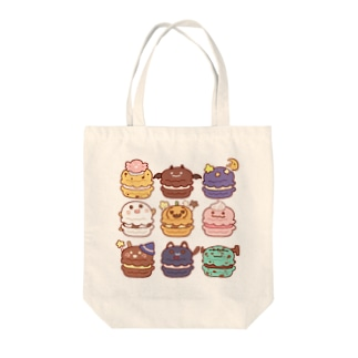 ハロウィンマカロン Tote bags