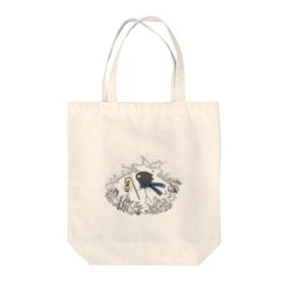 旅人・ホロ Tote bags