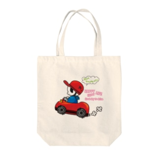 Happy Drive Life Tote bags