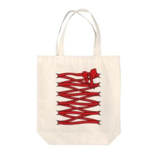 Kinda cuteでアピール Tote bags