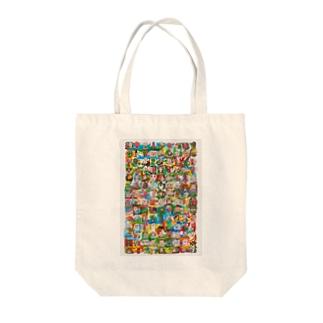 松山征シローLINEスタンプ Tote bags