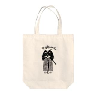サバ武士 Tote bags