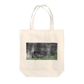 ママチャリ Tote bags