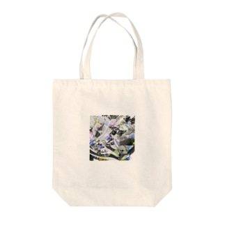 textile_sneakers×flowers Tote bags