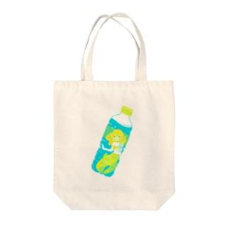 人魚の天然水 Tote bags