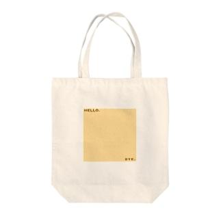 ハシハシ Tote bags