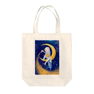 星を撒く少女 goods Tote bags