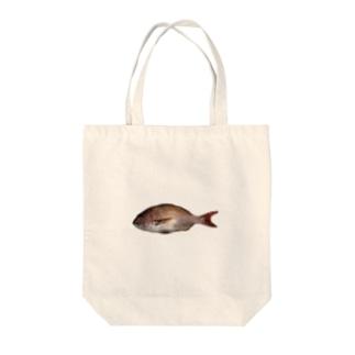 およぎ鯛 Tote bags