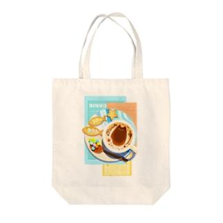 ビンロウとカプチーノ(リーフレット) Tote bags