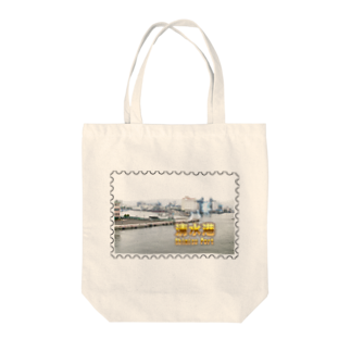 FUCHSGOLDの静岡県:清水港★白地の製品だけご利用ください!! Shizuoka: Shimizu Port★Recommend for white base products only !! Tote bags