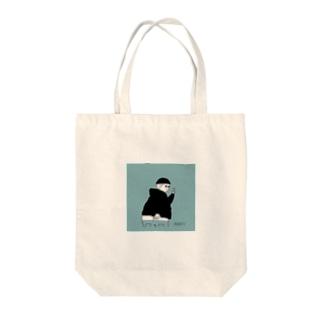 半ケツおじさんトートバッグ Tote bags