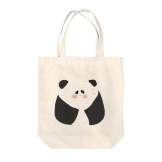 おにぎりパンダ Tote bags