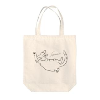 しゅうまい猫 Tote bags