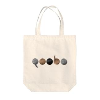 リアルQooboロゴ Tote bags
