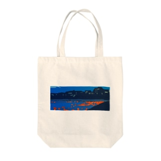 広瀬川灯篭流し Tote bags