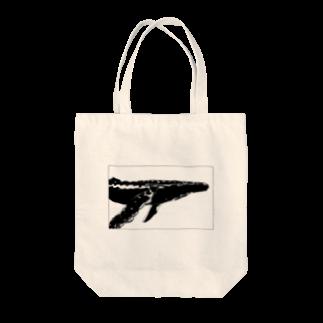 れいのTHE WHALE(クジラ) Tote bags